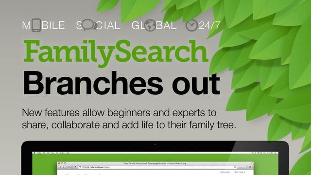 Family search Infographic